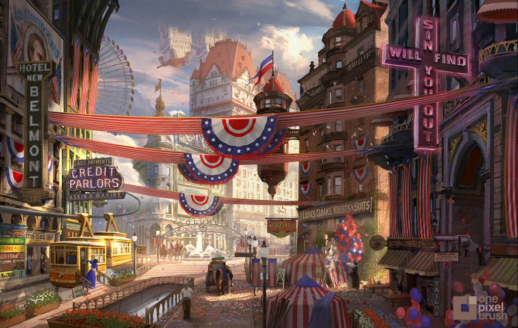 Bioshock Infinite, Columbia.