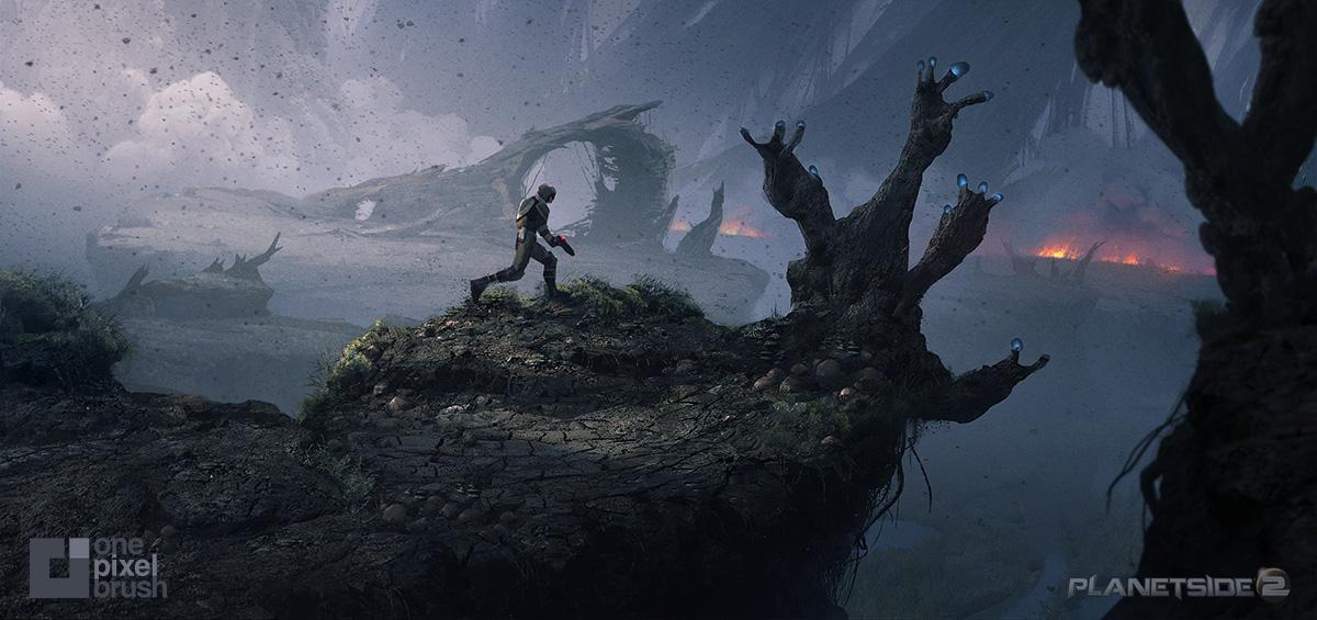 Planetside 2. Hossin Swamp