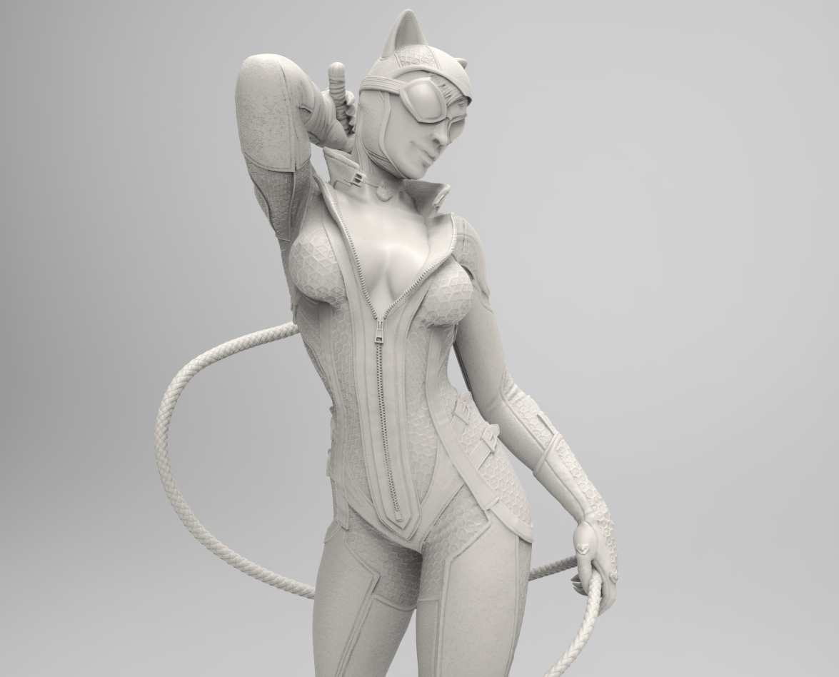 Arkham City Catwoman for DC Collectibles. Copyright by DC Entertainment and used by permission.