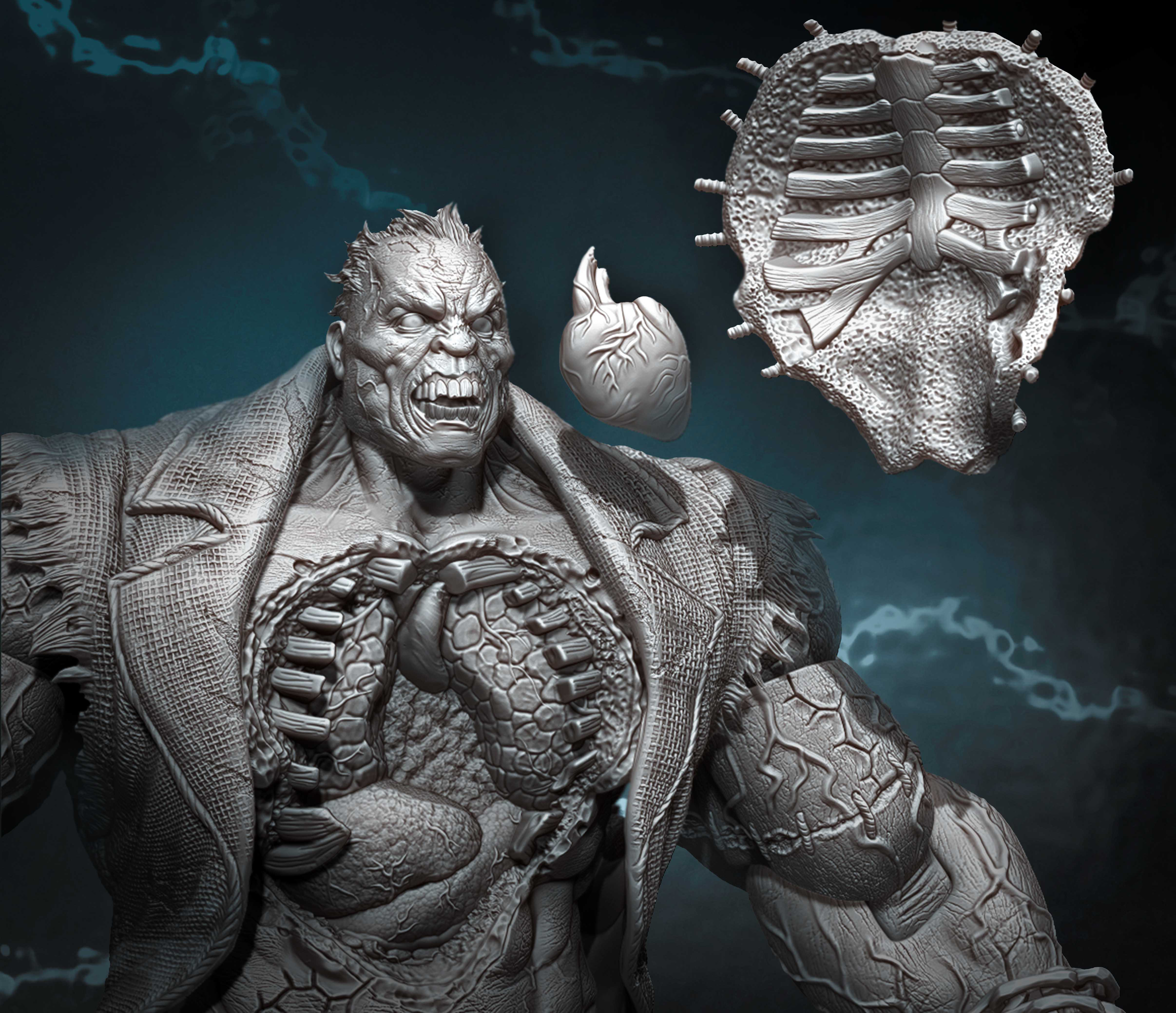 Arkham City Solomon Grundy Action Figure for DC Collectibles. Copyright DC Entertainment and used by permission.