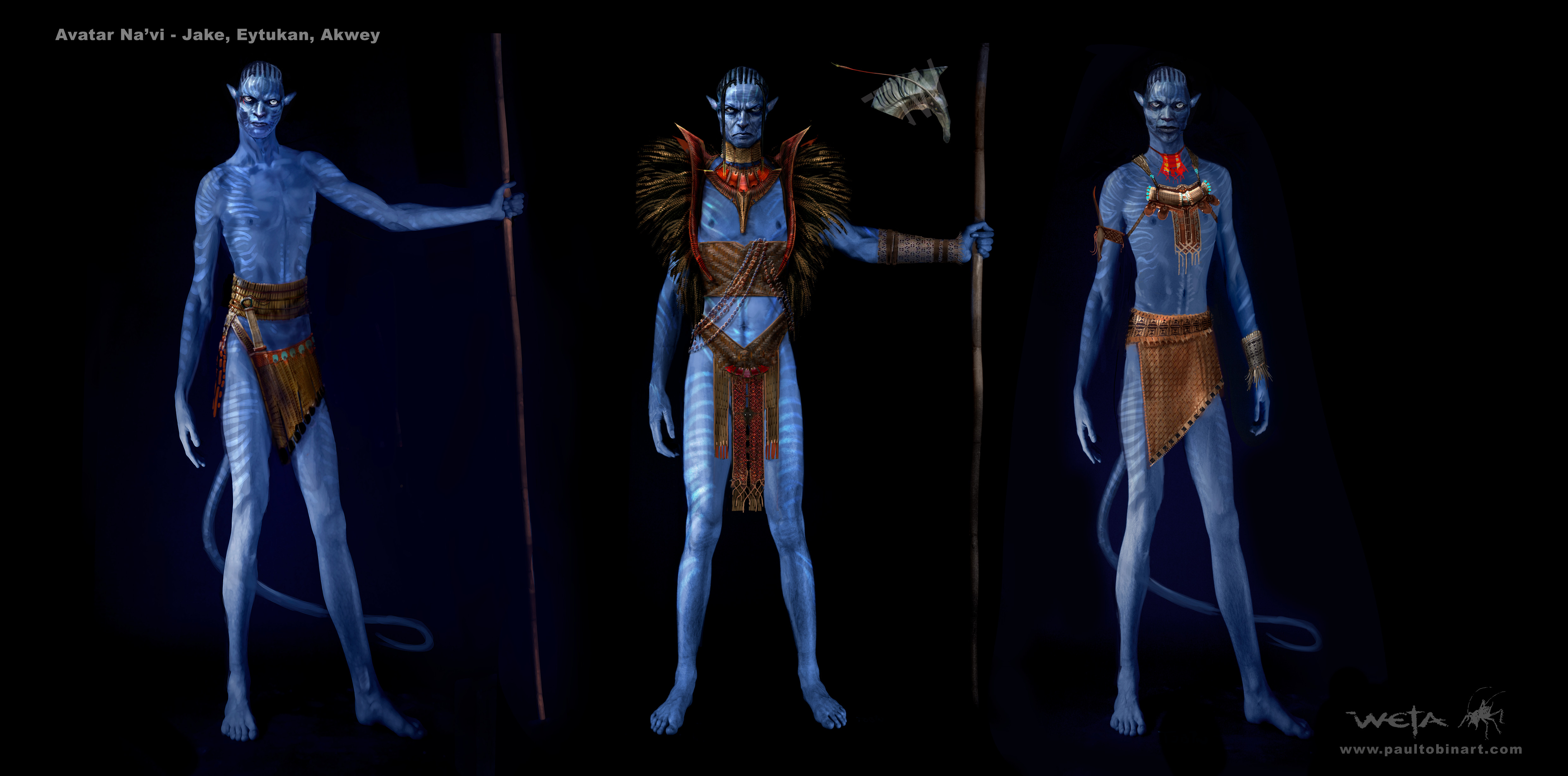 Concept art from Avatar. Image courtesy of Weta Workshop.