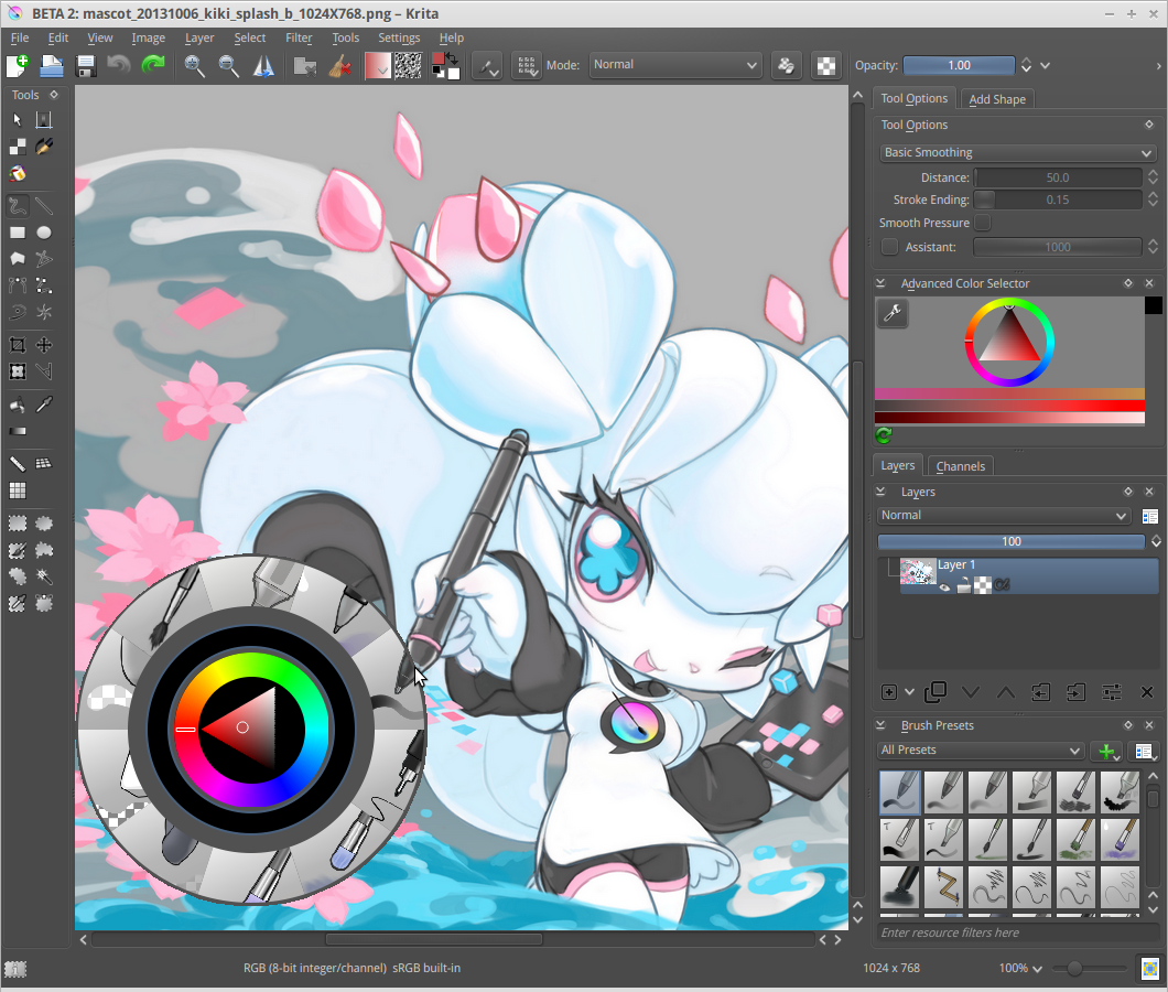 Krita 2 8 Brings The Open Source Paint Package To Windows