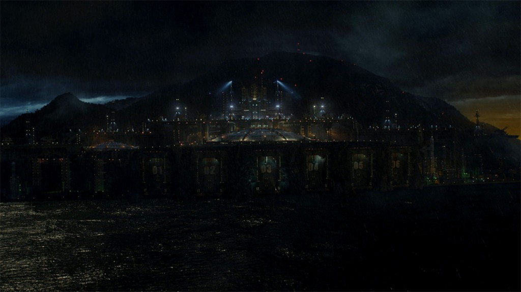 A complete digital environment for Pacific Rim.