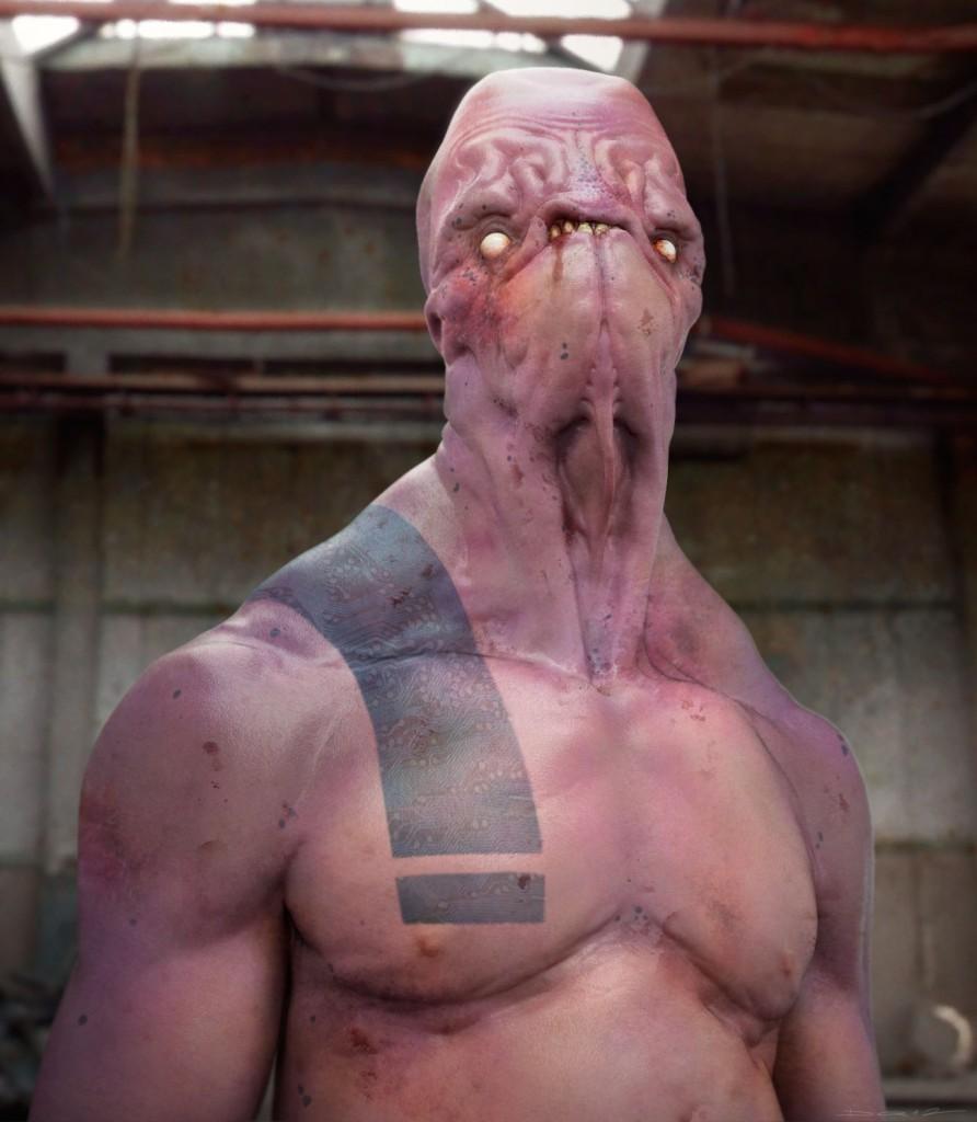 Bruiser: digital creature art.