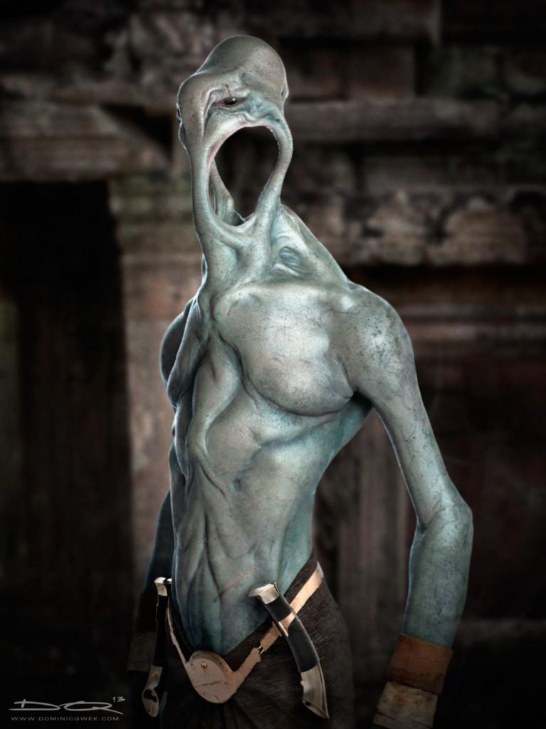 The Enri: digital creature art.