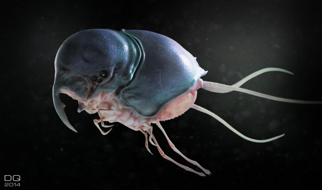 Juicy Bug: digital creature art.