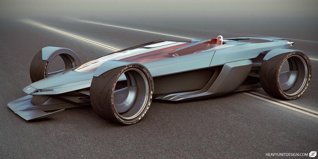 A render test for a vehicle design.