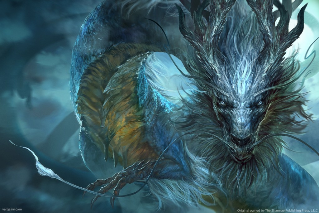 Cover art for Kundalis: Storm Dragon by Frances Pauli, published by The Zharmae Publishing Press.