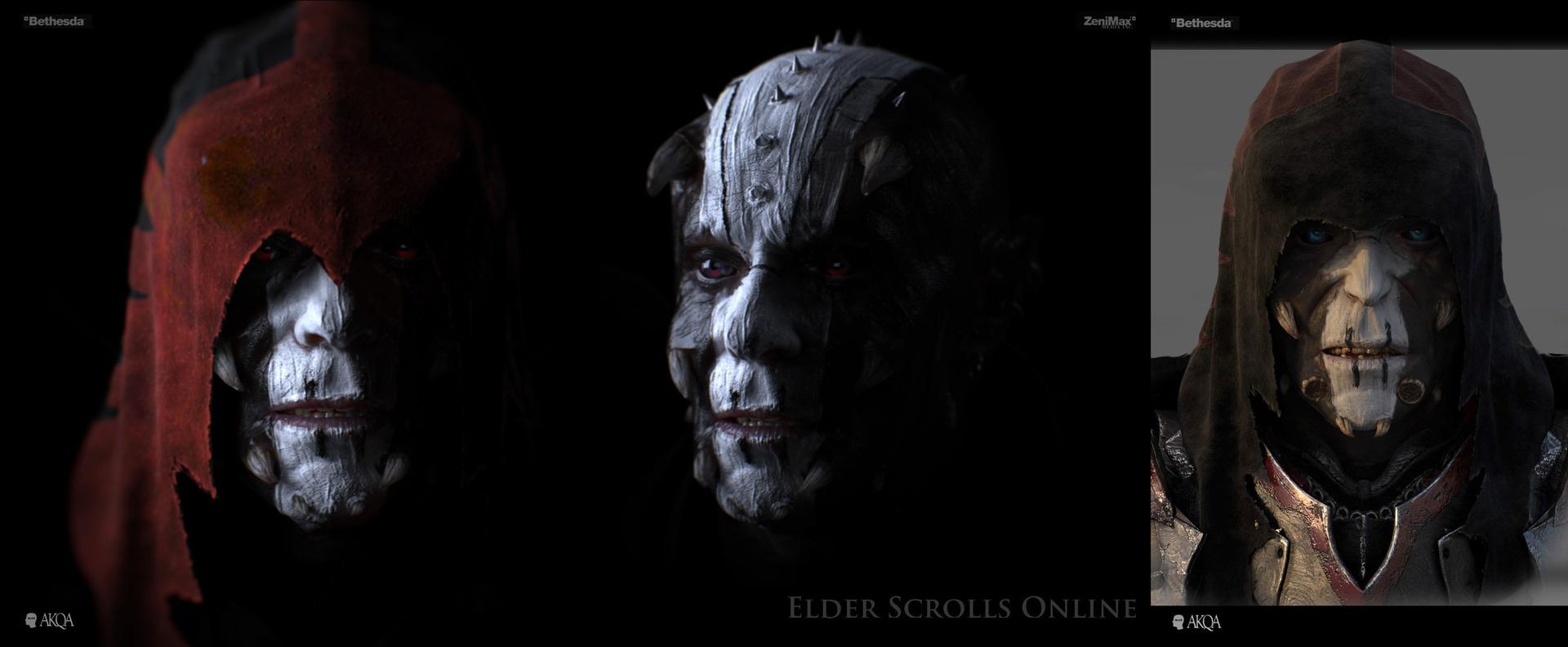 Artwork for Blur Studio's cinematic for Bethesda Softworks' Elder Scrolls Online.