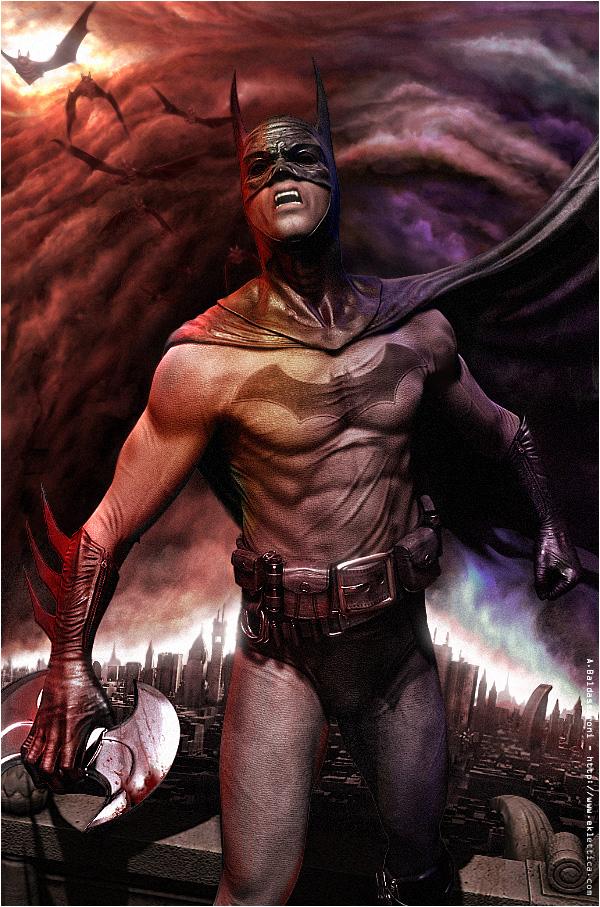 Dark Knight's Revenge: A personal artwork.