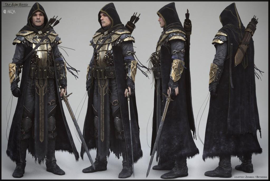 Artwork for the Elder Scrolls Online. Blur Studio produced the cinematic for Bethesda Softworks' MMO.