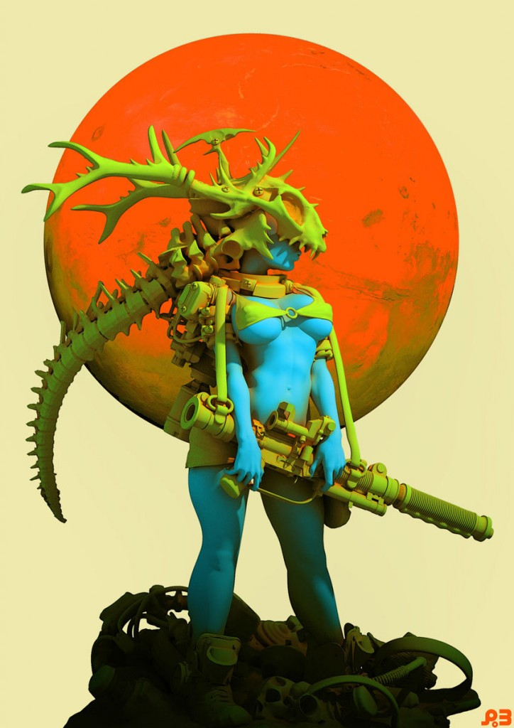 Hunter Moon: a personal artwork.