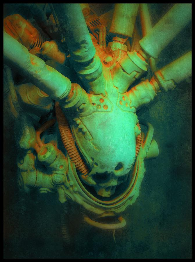 Skull: a personal artwork.