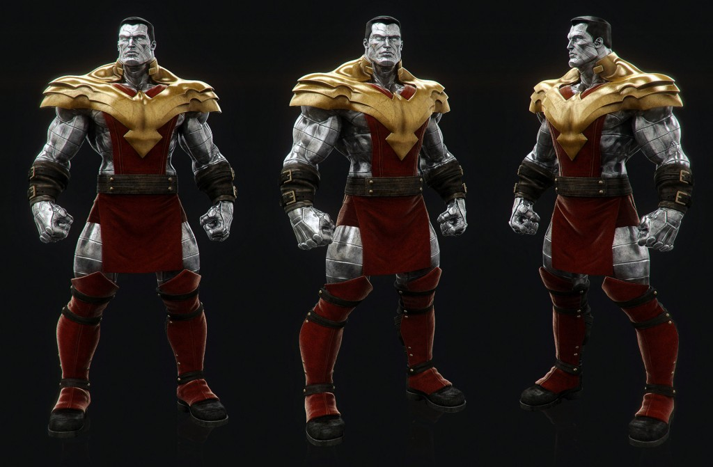 Colossus: a personal tribute to the Marvel superhero.