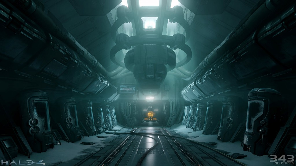Environment art for Halo 4, developed by 343 Industries.