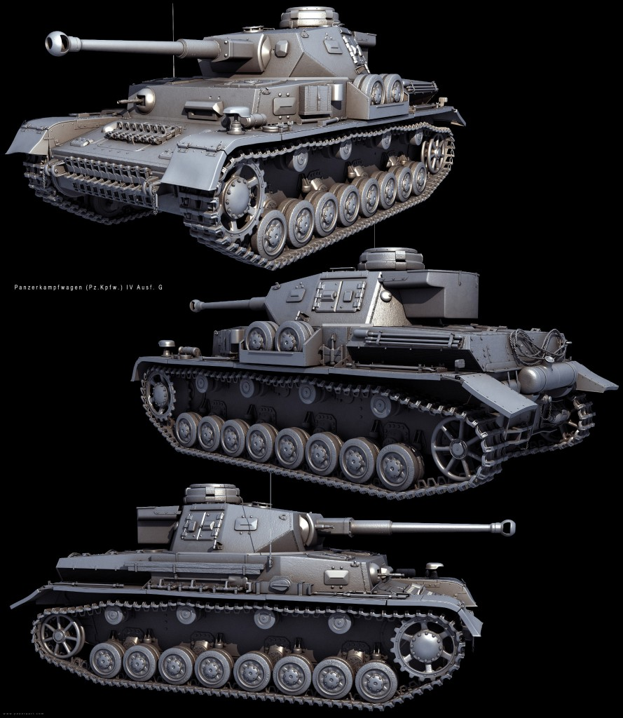 A tank model from Red Orchestra 2: Heroes of Stalingrad, developed by Tripwire Interactive.