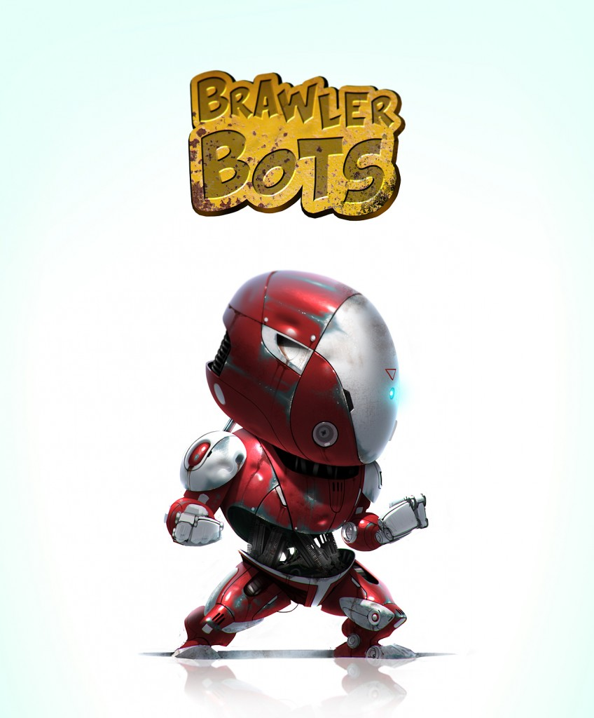 Red Brawler: a personal art work. See more of the Brawler Bots on Matt's ArtStation.