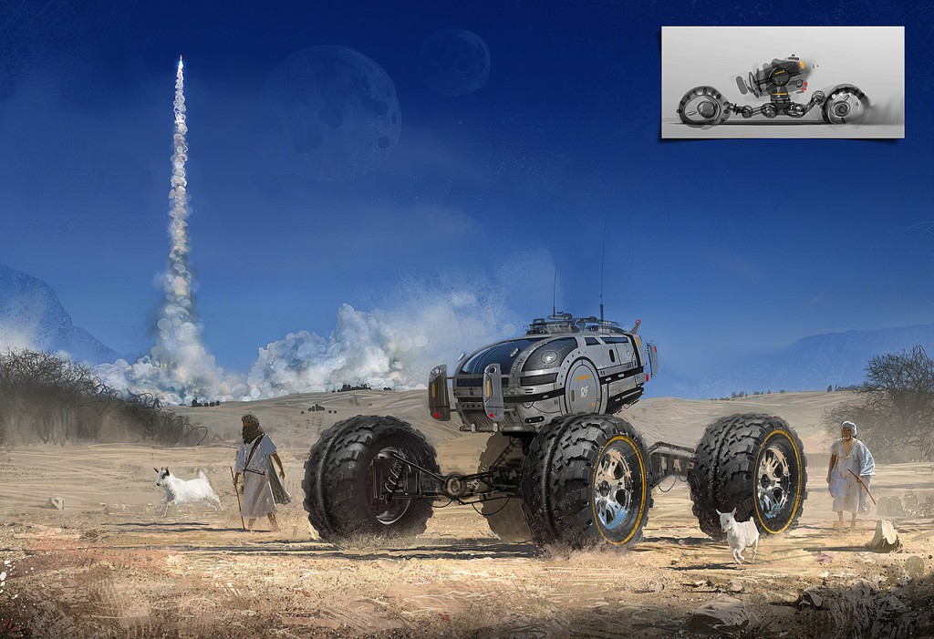 Dune Buggy: a personal art work.
