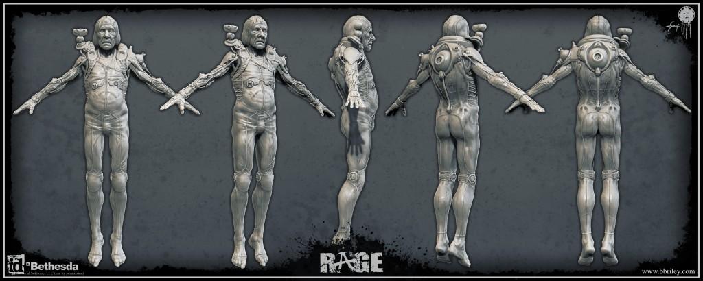 Dr. Antonin Kasavir: character design from id Software's Rage. Textures by Jason Sallenbach.