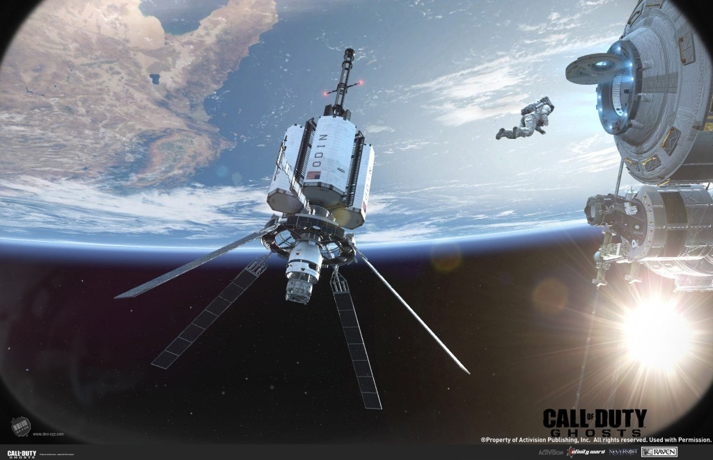 The ODIN space station from Infinity Ward's Call of Duty: Ghosts.