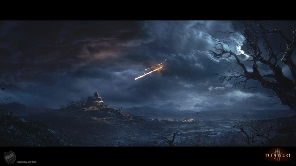 Part of the intro cinematic for Blizzard Entertainment's Diablo III. Devon did much of 3D work and compositing.