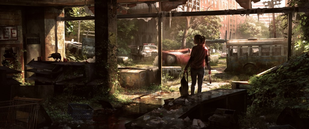 Hunter City 1: art for Naughty Dog's The Last of Us.