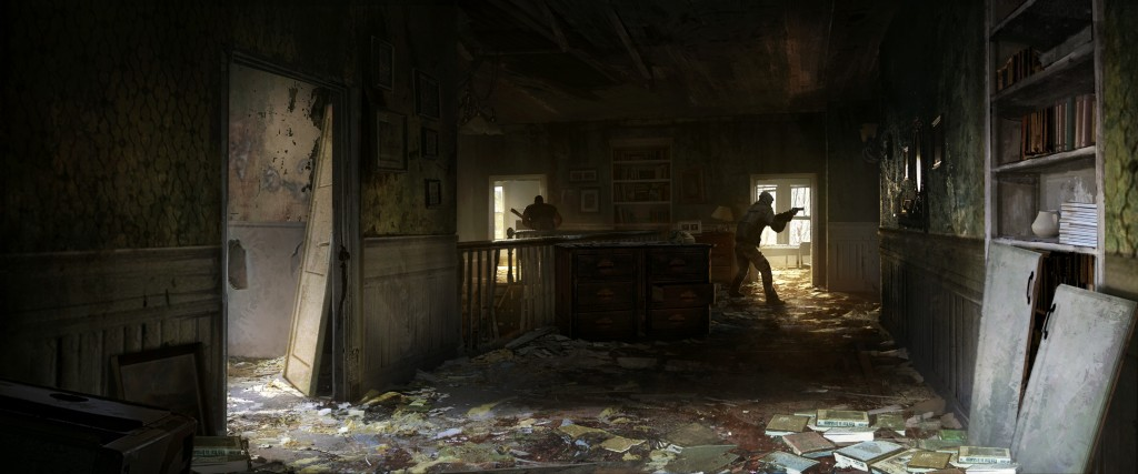Tommy's 7: art from Naughty Dog's The Last of Us.