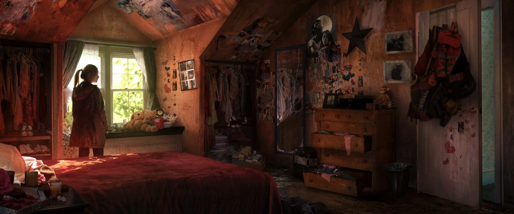 Tommy's 6: art from Naughty Dog's The Last of Us.