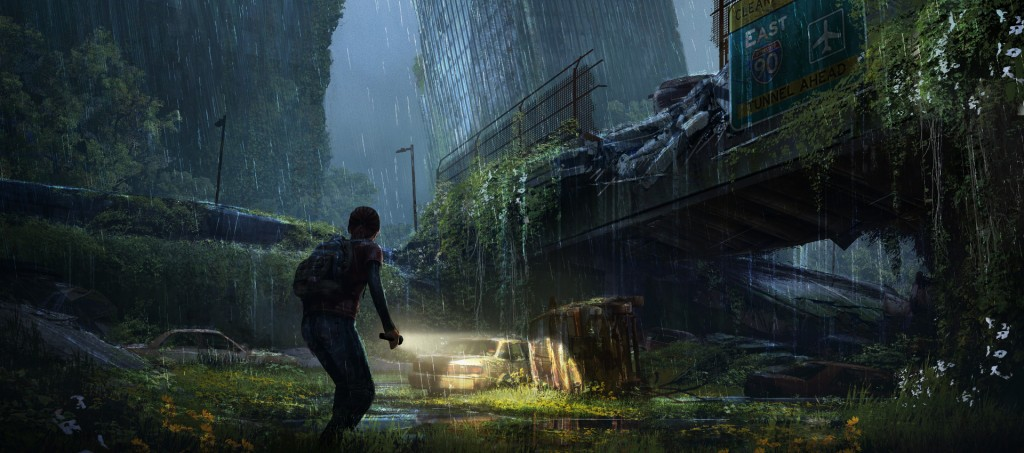 Outskirts 1: art from Naughty Dog's The Last of Us.