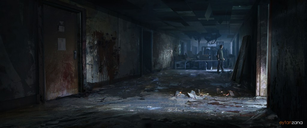 University Dorms: an image for Naughty Dog's The Last of Us.