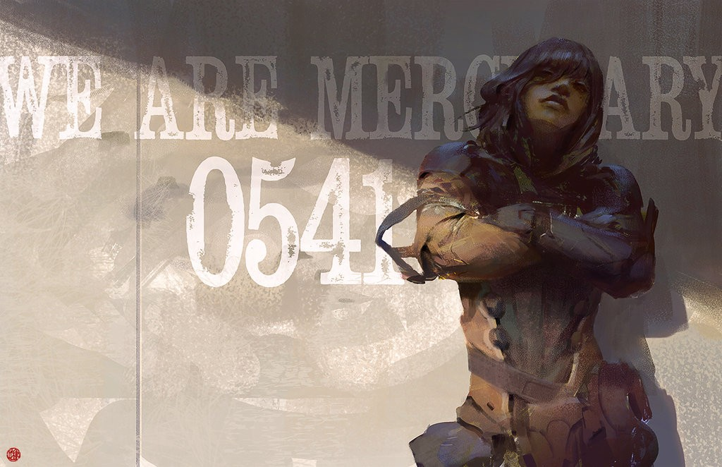 We Are Mercenary: a personal art work.