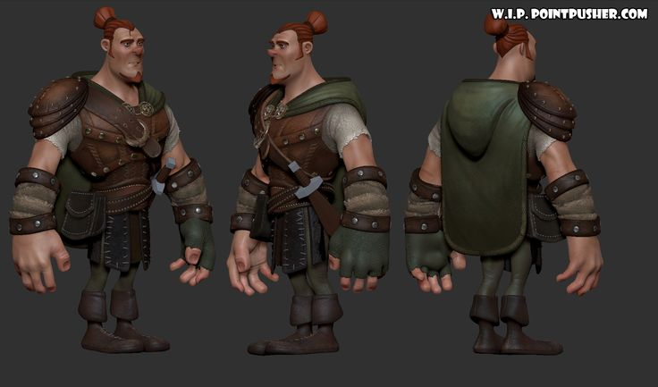 Ranger: a character created for ZBrushWorkshops by Danny Williams.