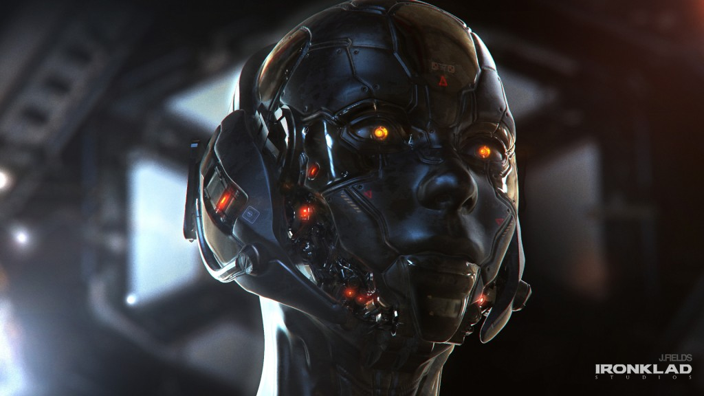 Navigator: art for a personal IP project created by Justin Fields.