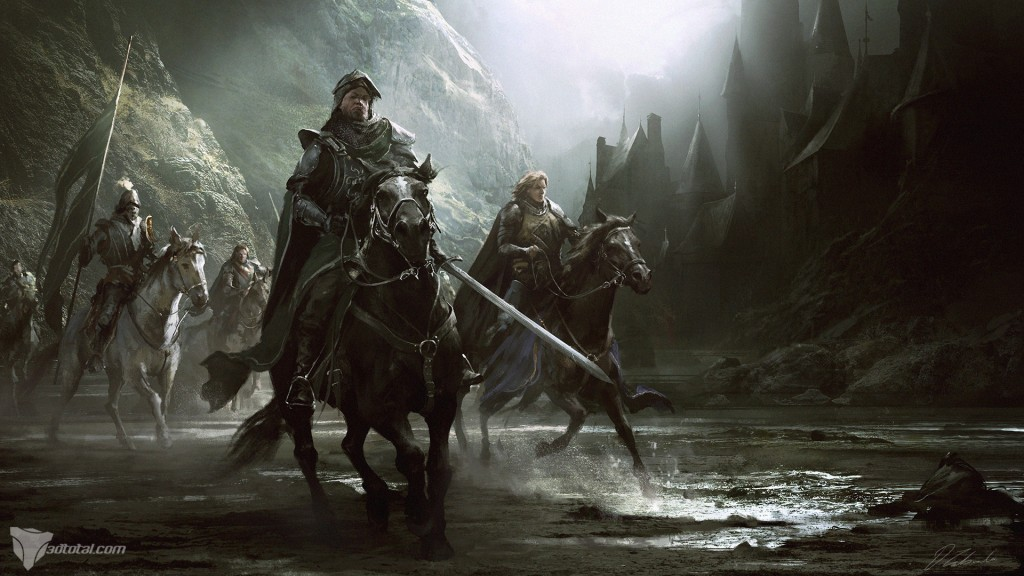Knights Division: an image created for 2DArtist magazine.