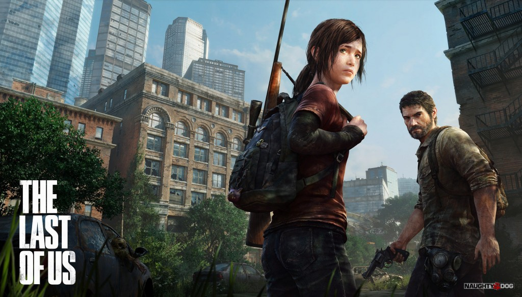 Key art for Naughty Dog's The Last of Us.