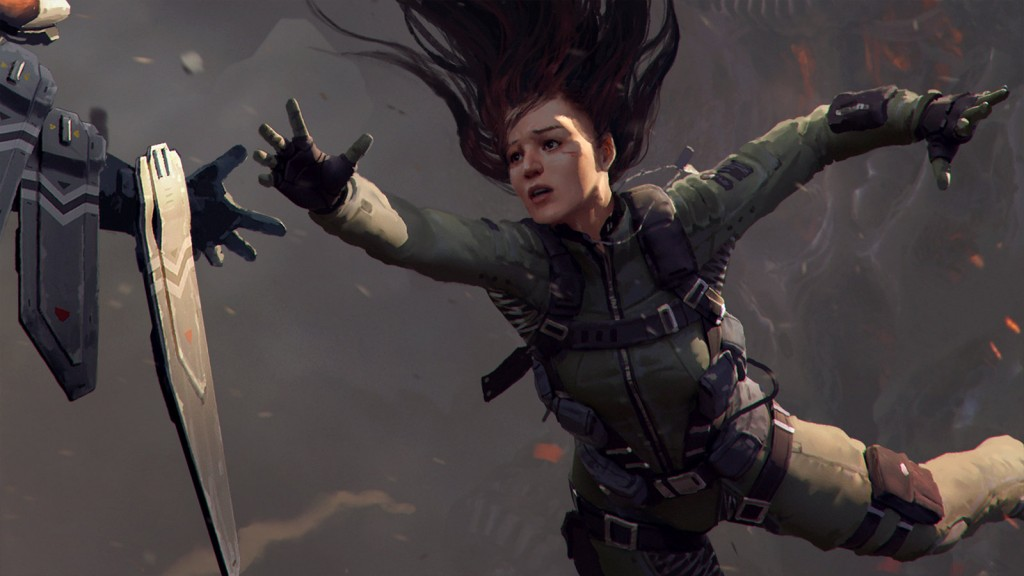 I've Got You (close up): A cover image from Marek's Illustration Unchained tutorial series.