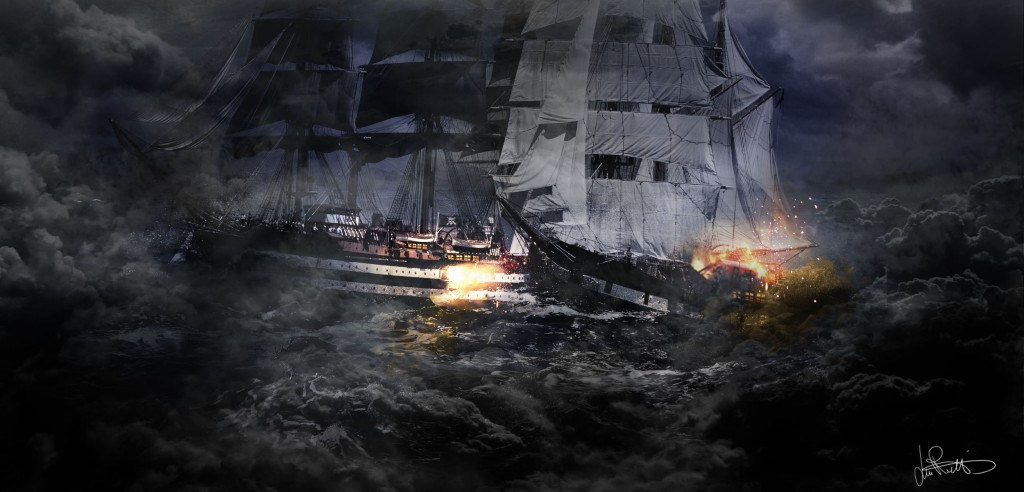 Pirates: a personal art work.