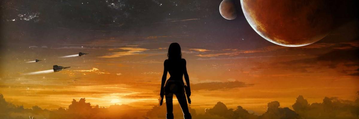 Alone: concept art for Battlestar Galactica.