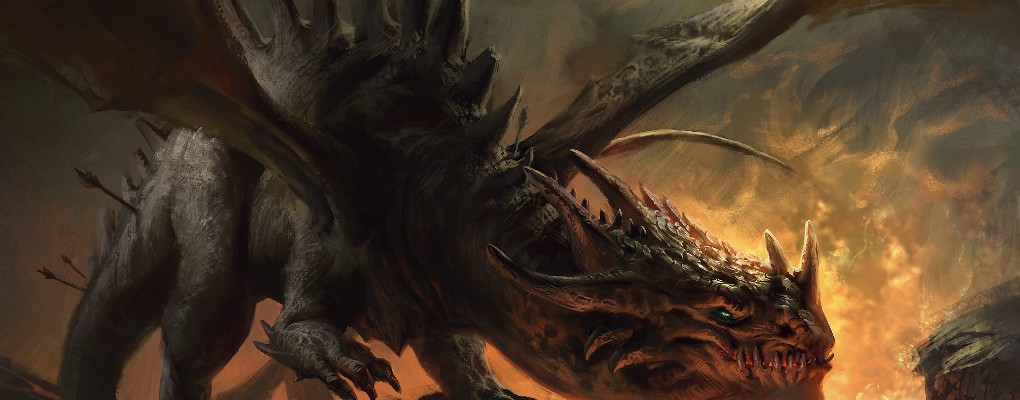 Tony, The Dragon: a personal art work.
