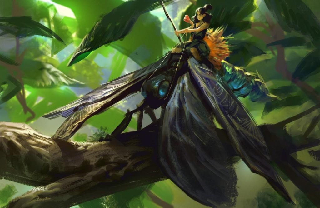 Warrior Fairy: a personal art work.