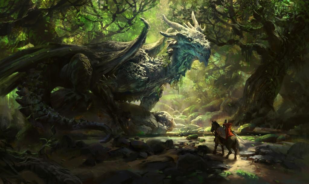Joseph, The Ancient Dragon: a personal art work.