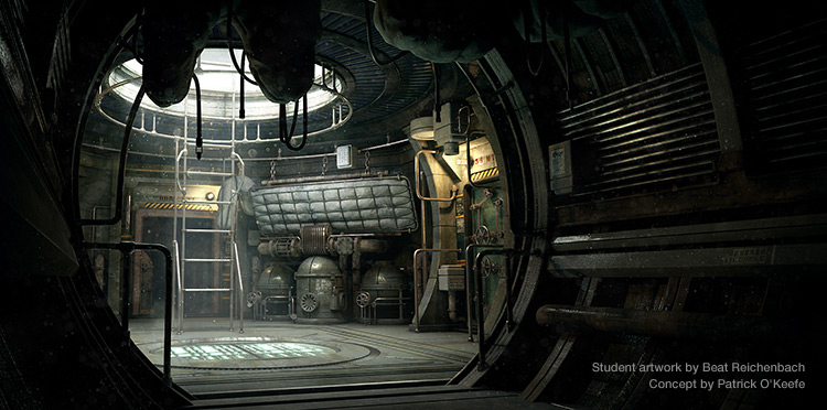 Student work by Beat Reichenbach. Concept by Patrick O'Keefe.