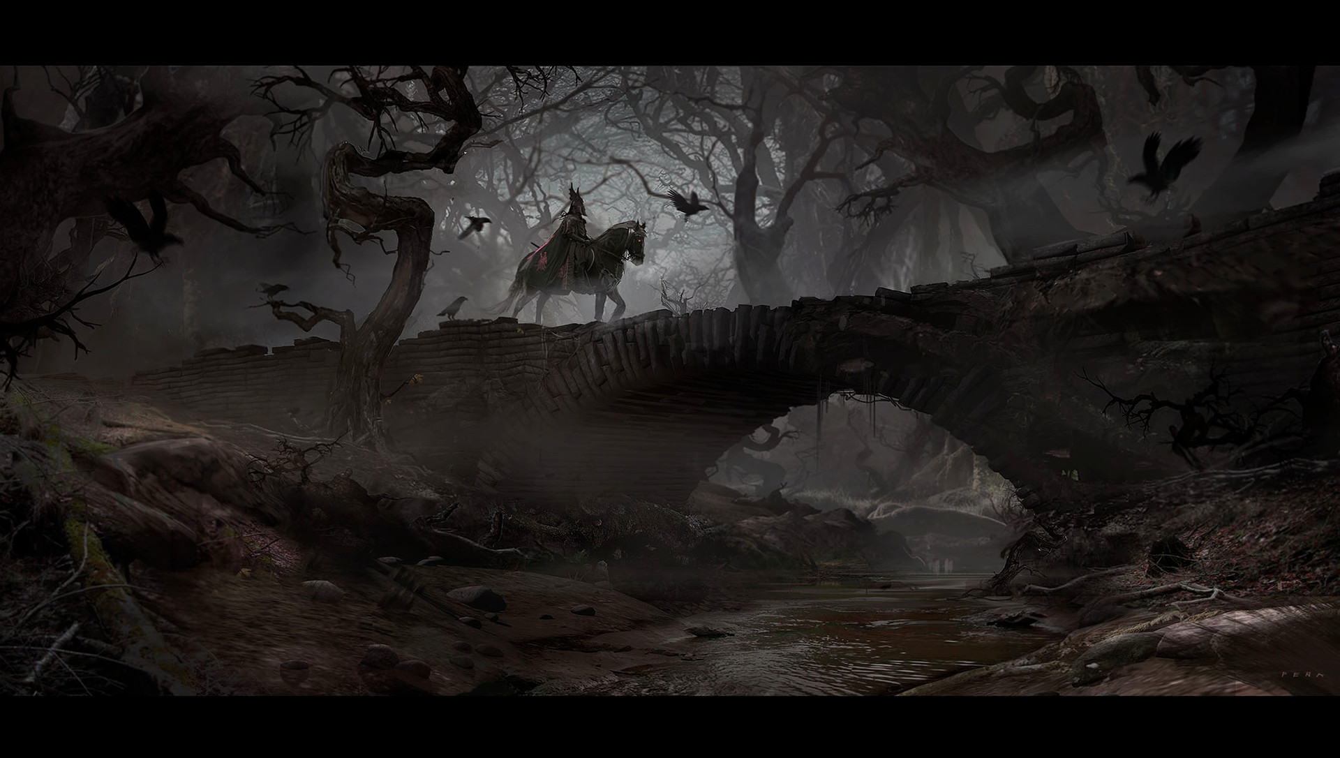 The Forgotten Rider: a personal art work from Eduardo's IP Wizard Anthologies.