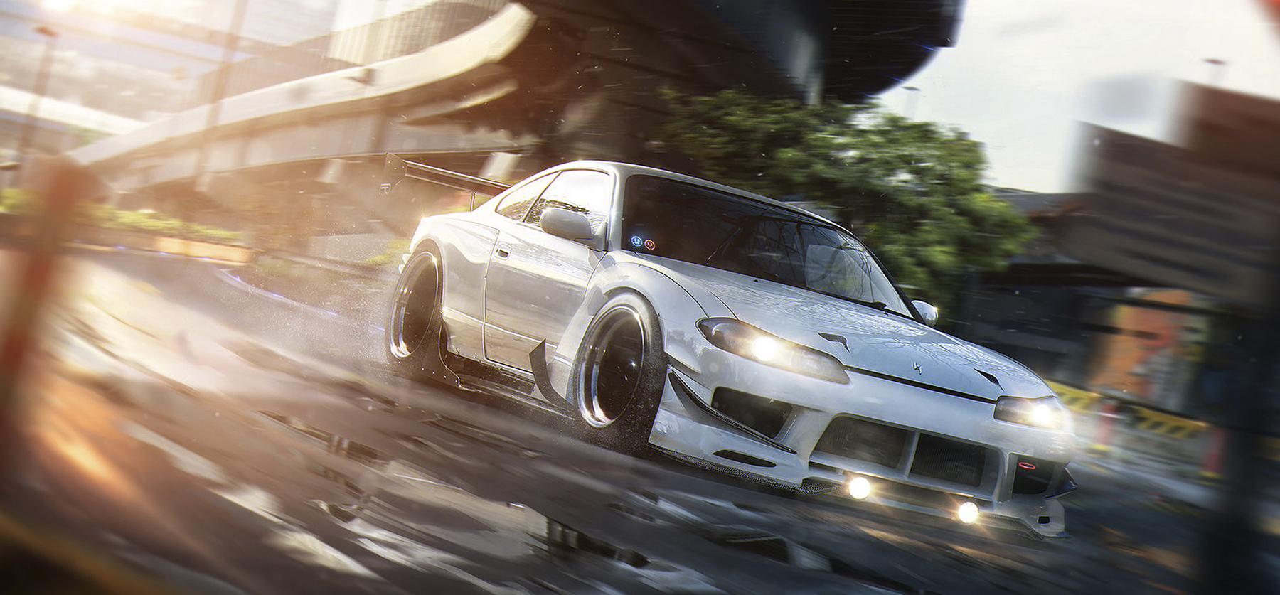 On The Run: a personal art work. Inspired by PlayStation 4 title Driveclub.