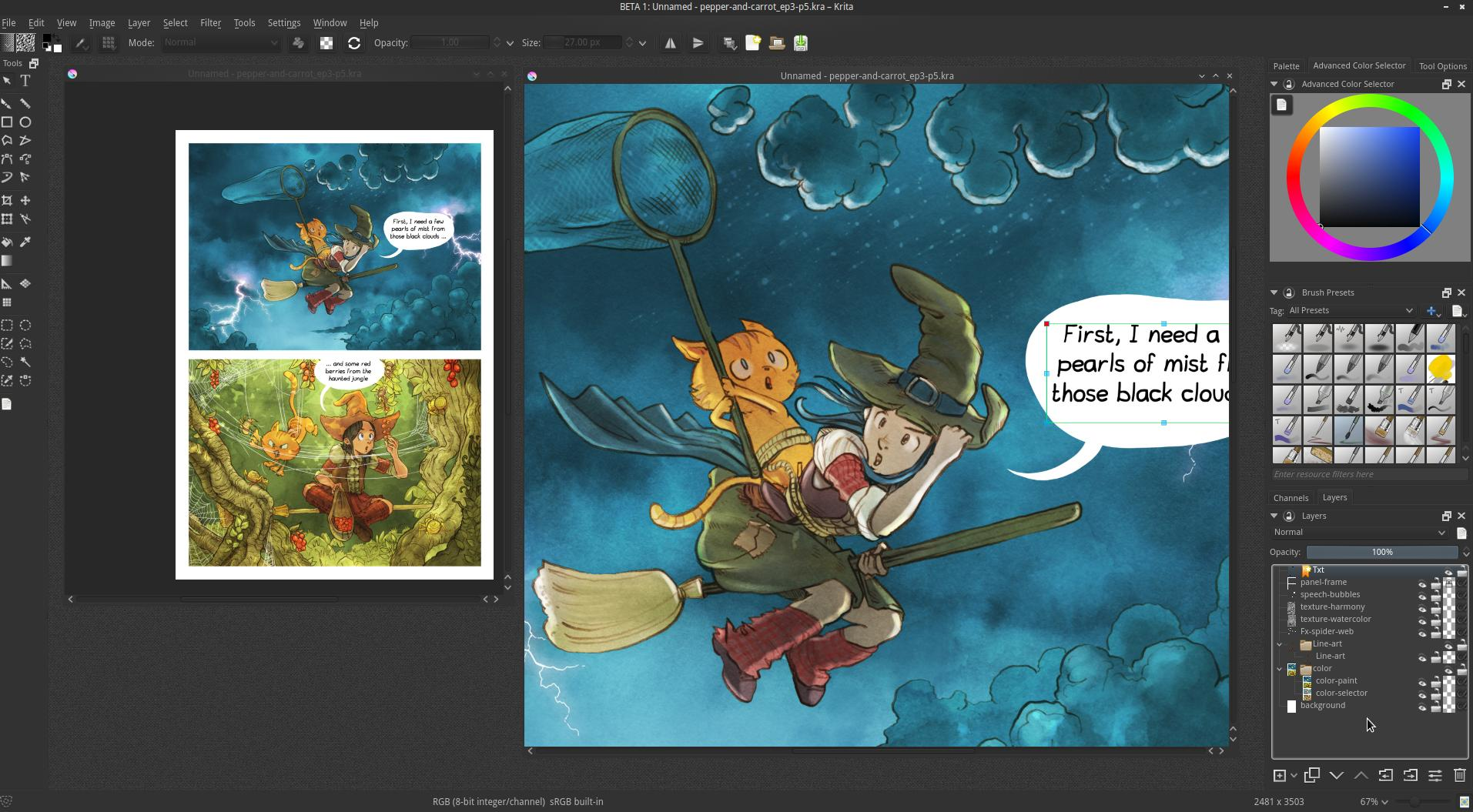 tired of your current paint package try krita 29