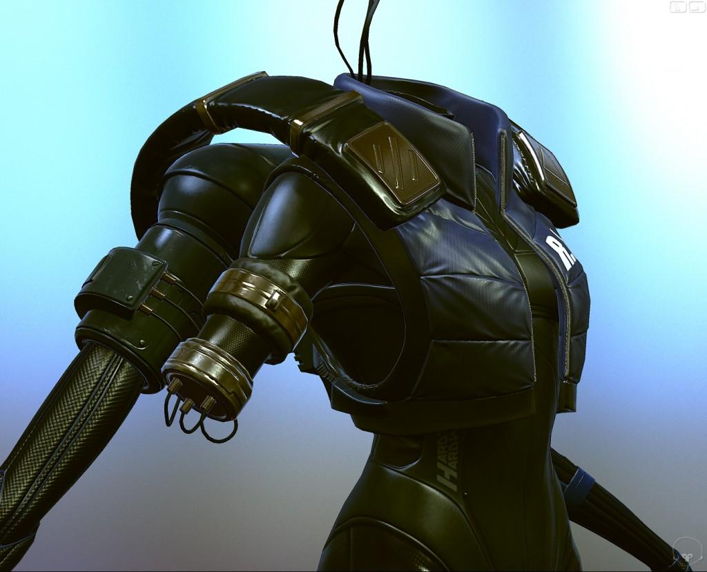 Assault Cyborg Body - Charles Metze III