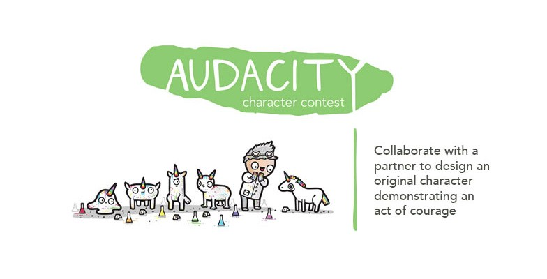 Character Design Competition 2015 : Cut paste audacity character contest winners