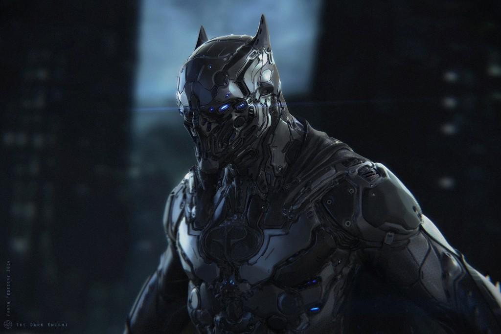 The Dark Knight: a personal art work.