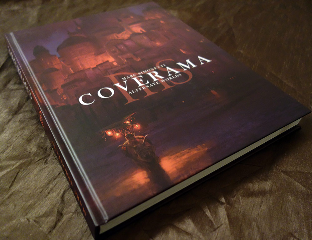 Marc Simonetti's Coverama, published by It's Art.