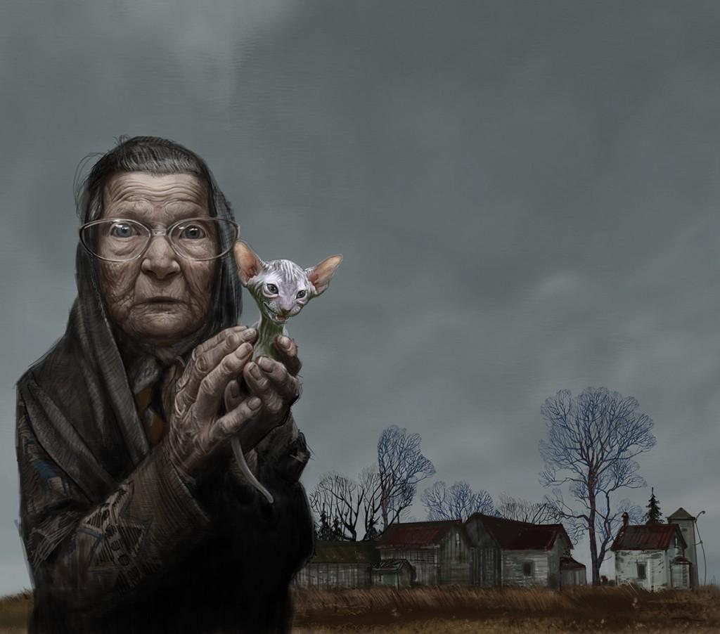 Babushka: a personal art work.